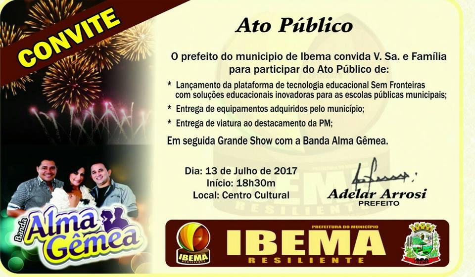 Ato Público 13-07-2017