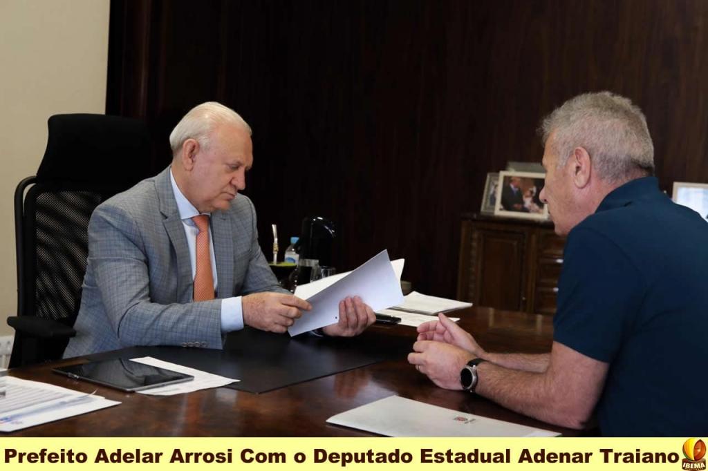 Adelar Arrosi viabiliza mais 2,2 milhões em parceria para mais 16 mil metros de pavimentação urbana