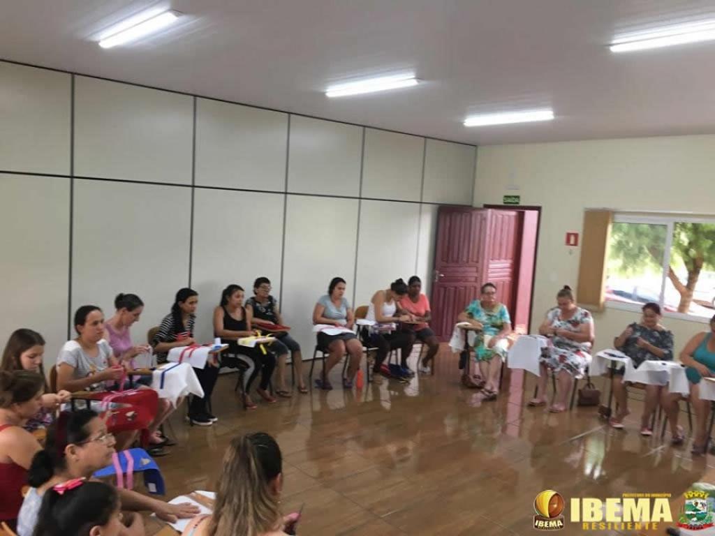 Ibema oferece curso de bordado a mulheres