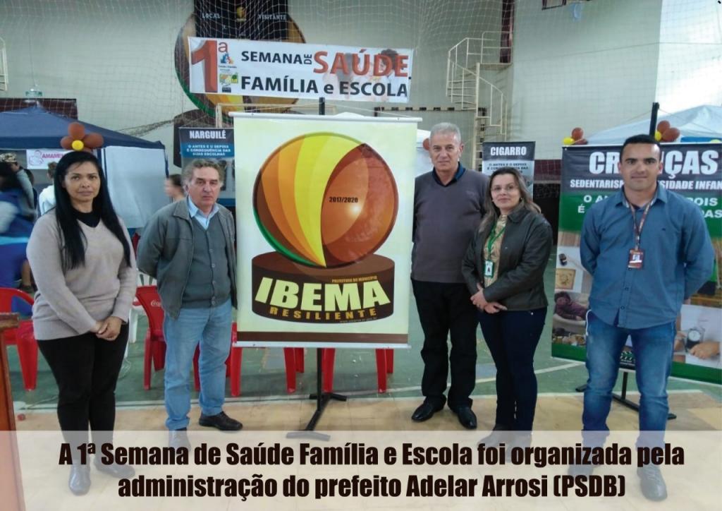 1ª Semana de Saúde Família e Escola mostra que Ibema está unida para prosperar