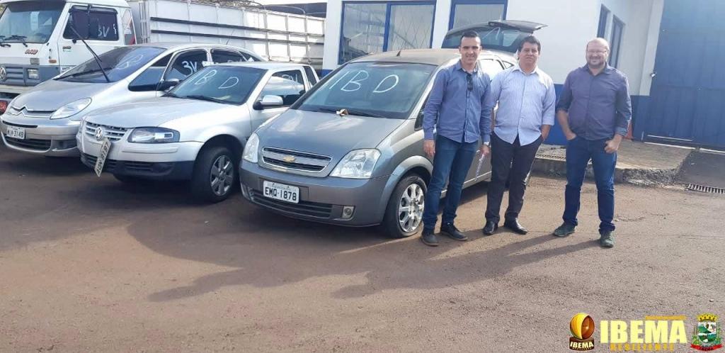 Ibema recebe doação de veículos da Receita Federal