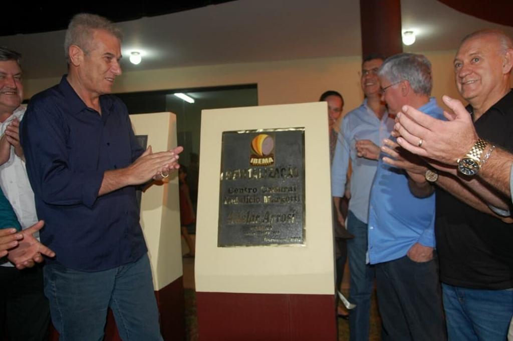 Ibema entrega obras de revitalização do Centro Cultural