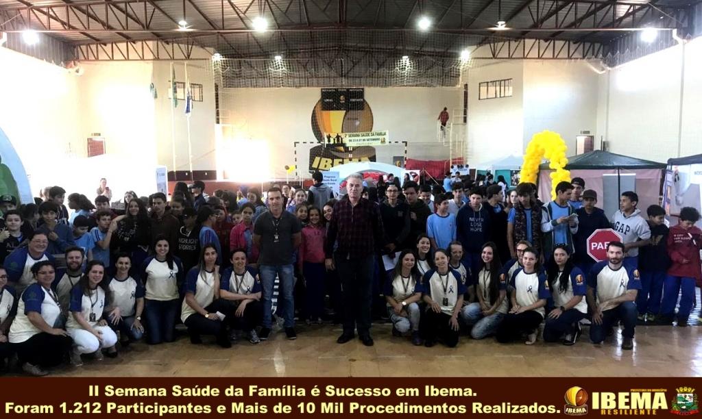 Semana Saúde da Família é sucesso em Ibema