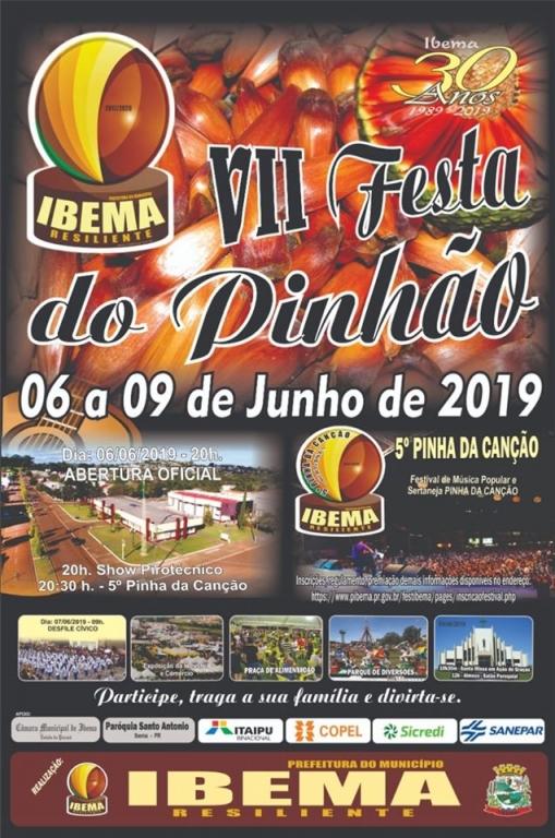 Sétima Festa do Pinhão vai marcar 30 anos de emancipação de Ibema