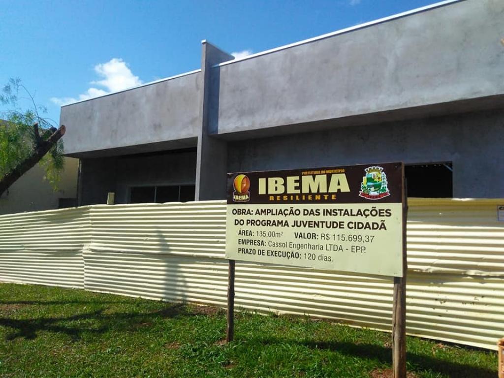 Modelo de gestão, Ibema faz obras com recursos próprios