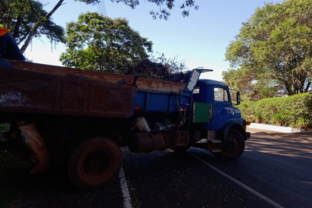 Utilidade Pública - Limpeza da cidade de Ibema é retomada